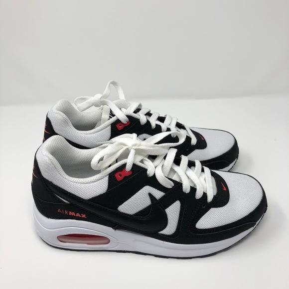 Nike Air Max Command Flex White Black Womens Shoes NWT